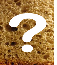 Bread with question mark