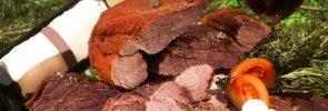 Smoking Deer Meat