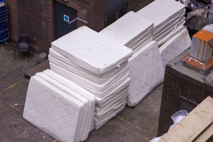 how to get rid of a mattress for free