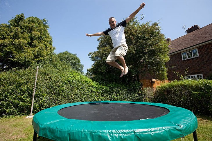 weight limit on a trampoline