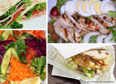 Recipes to Spark up Packable Lunches